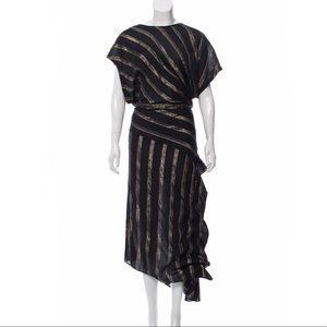 Rachel Comey Metallic Stripe Dress
